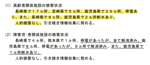 台風10号9月8日被害状況