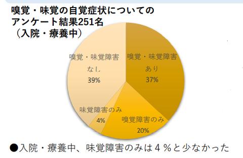 厚労省専門家会議・嗅覚味覚障害資料
