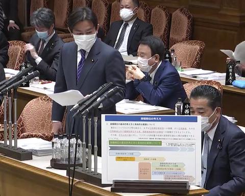 自民党・福岡議員の質問