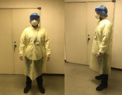新型コロナ防護服