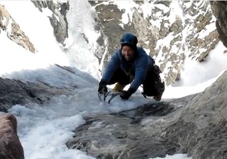 ice climing