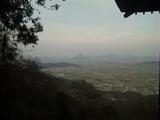 奥社からの讃岐平野と讃岐富士