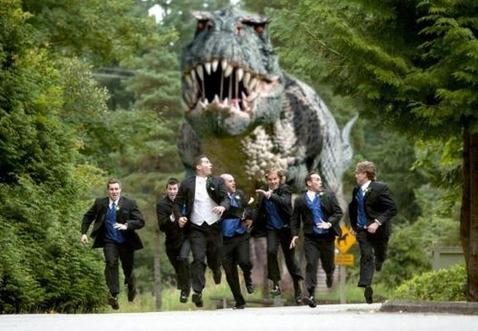 恐竜と人間