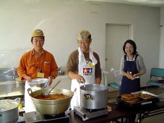 2007_2二回目フィールドキッチン