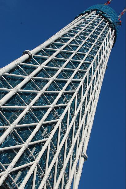 東京スカイツリー 1/23現在 地上257m