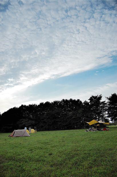 那須 たんぽぽ村 キャンプ広場