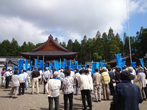 西田秀治出陣式 (2)