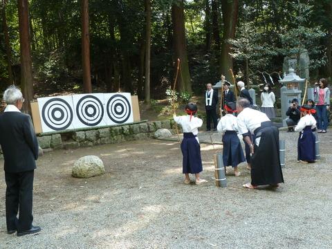 鏡神社春祭り (4)