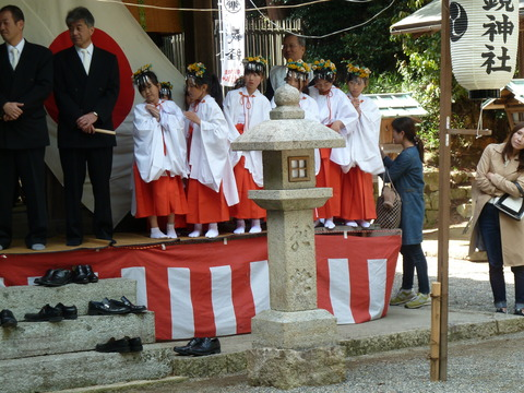 鏡神社春祭り (3)