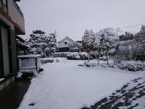 雪景色西田秀治後援会ブログ (2)