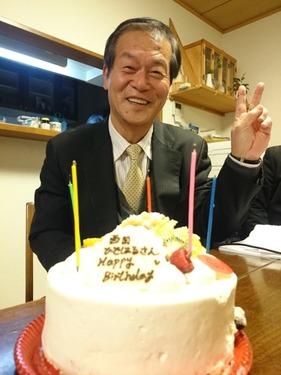 西田ひではる誕生日 (3)