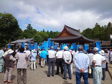 西田秀治出陣式 (3)