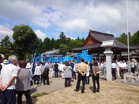 西田秀治出陣式 (4)
