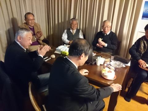 西田ひではる誕生日 (2)