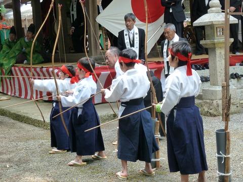 鏡神社春祭り (2)