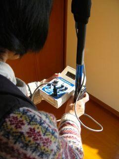 室内地磁気計測