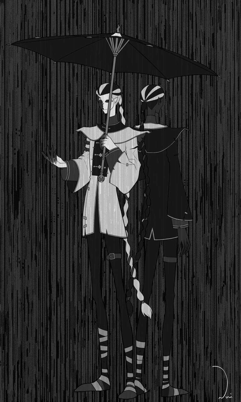 第 五 人格 白黒 無常 イラスト