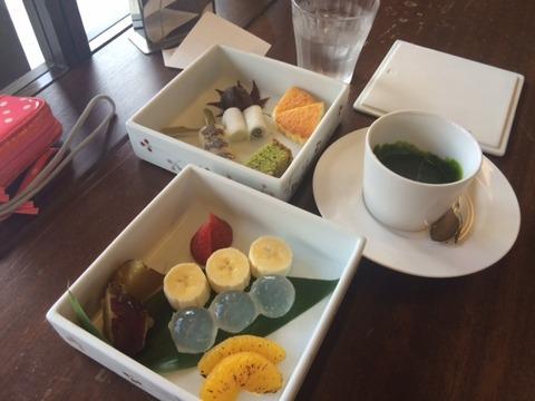 抹茶フォンデュ