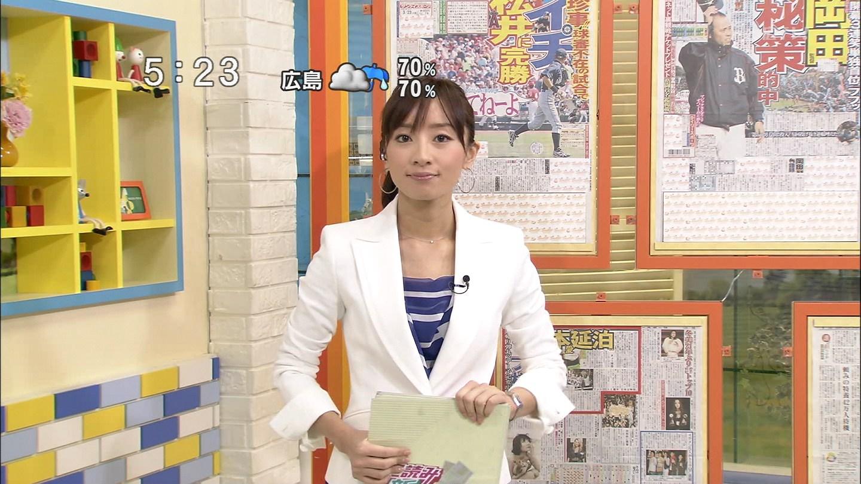 184 日テレ解説委員の水島さんが今日で卒業・・・乙!おぐまんとよいこも卒業・・...  黒タイ
