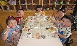 給食 4歳児