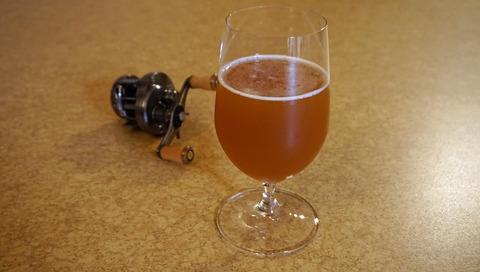 ビールとリール