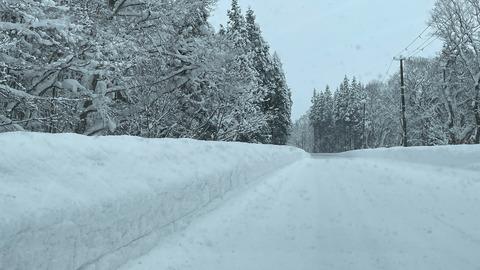 20200109_西和賀町の積雪