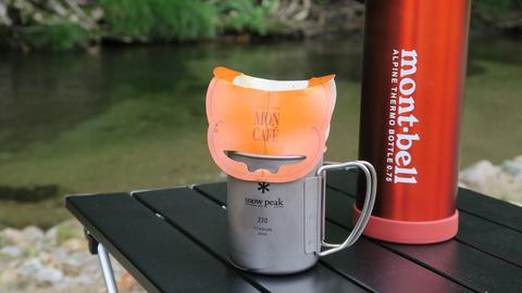 渓流でコーヒー_20210815
