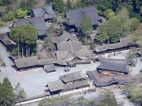 阿蘇神社被災状況