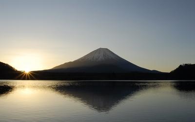 0604精進湖初日の出
