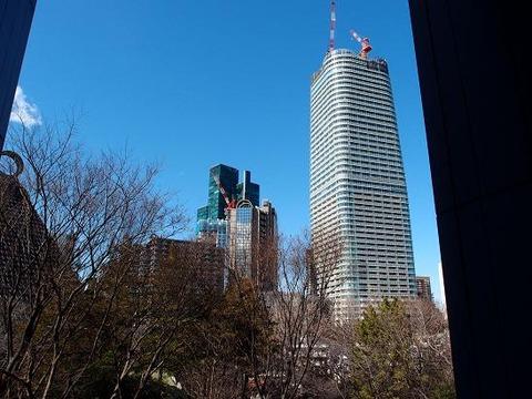 東京事務所からの風景