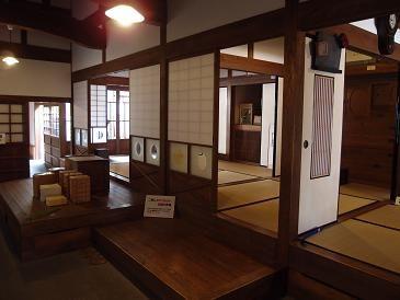 記念館の内部