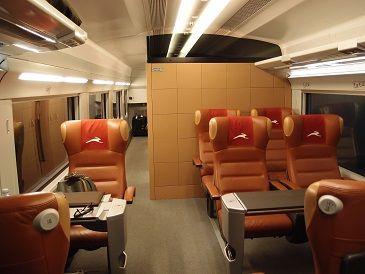 新幹線1等車両