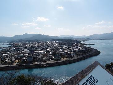 仙崎の全景