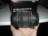 SIGMA 18-125mm F3.8-5.6 DC OS