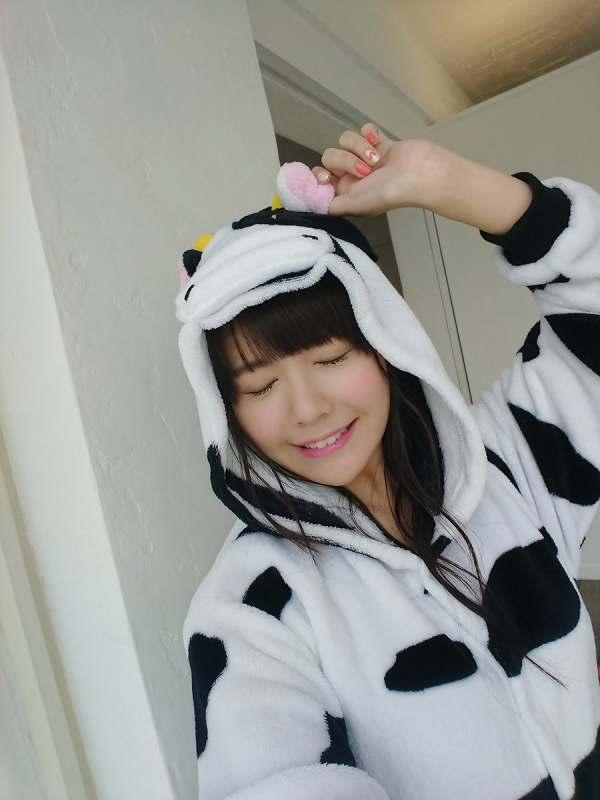 竹達彩奈、牛のコスプレをしてしまうwww(画像)