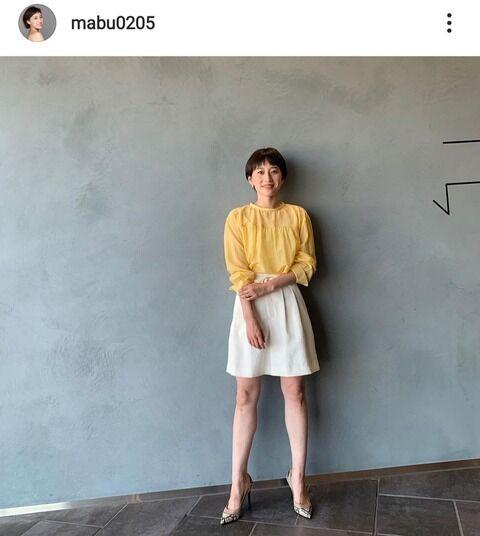 瀬戸大也の妻・馬淵優佳さん ミニスカ&ハイヒールで美脚披露!「モデル以上のスタイル」の声(画像あり)