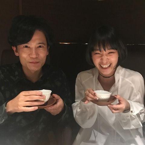 剛力彩芽、稲垣吾郎とツーショット 久々女優業に意欲(画像あり)