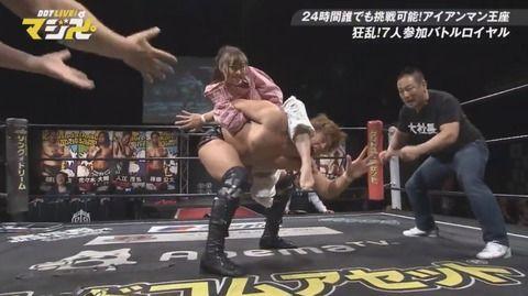 SKE須田亜香里がアイアンマンヘビーメタル級選手権王者に!