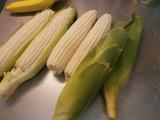 白いトウモロコシ