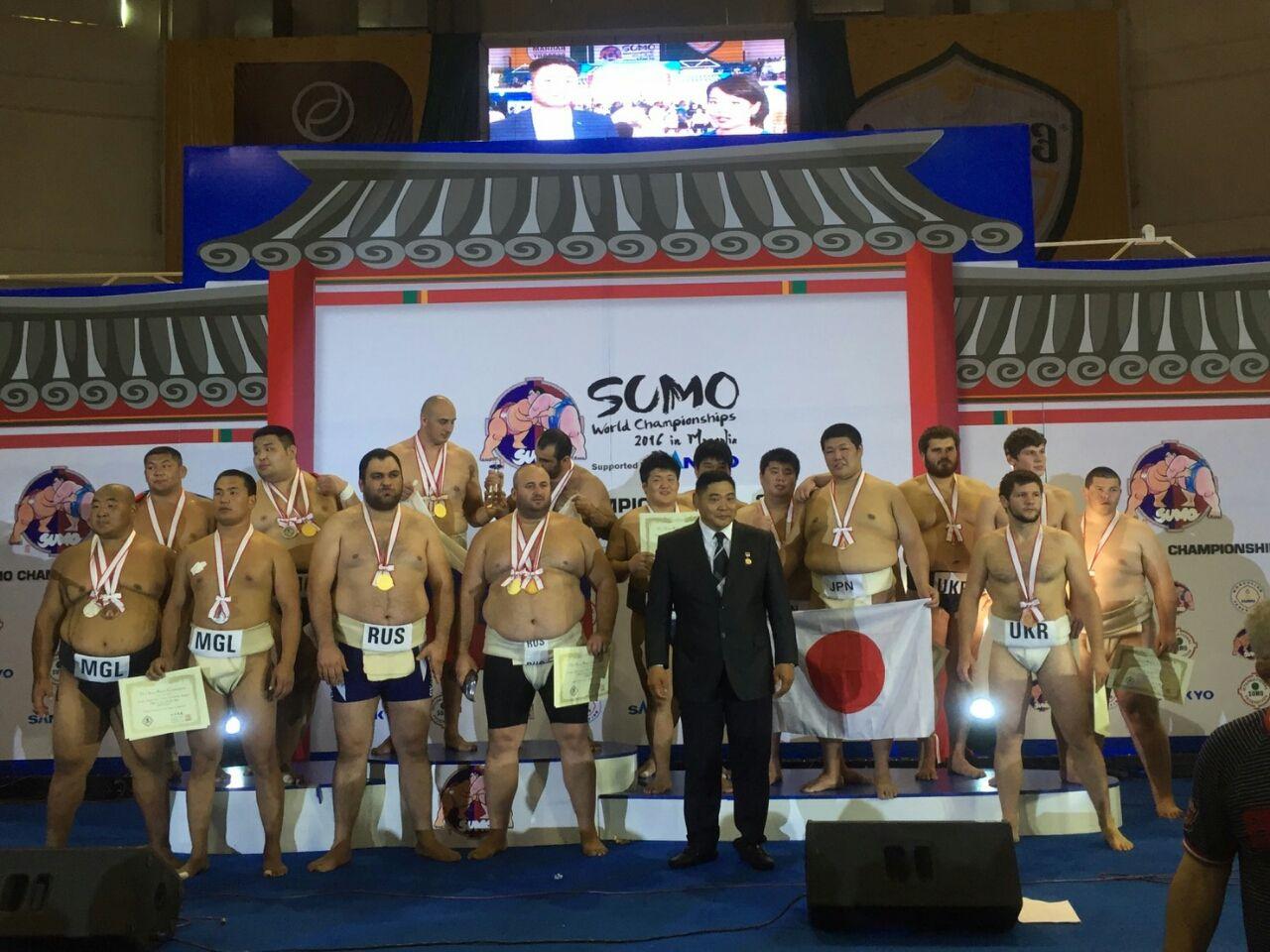第21回世界相撲選手権大会 結果...