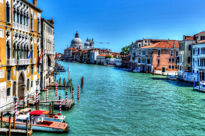 ベネチア・アドリア海の真珠と呼ばれる美麗都市