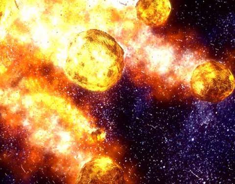 【2ch面白ニュース】豪州で巨大隕石の衝突跡発見!!・幅400キロ 3億年以上前に落下?