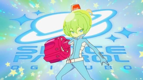 宇宙パトロールルル子第2話「転校生が来た!」22