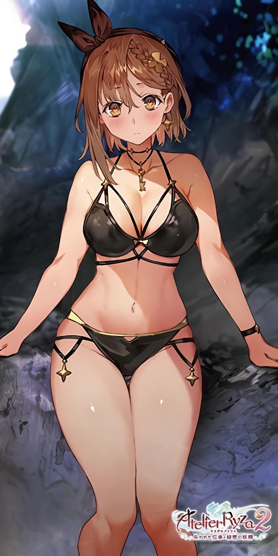 【爆乳爆太もも】ライザちゃんついにエロエロな水着を着てしまうwwwwww(画像あり)