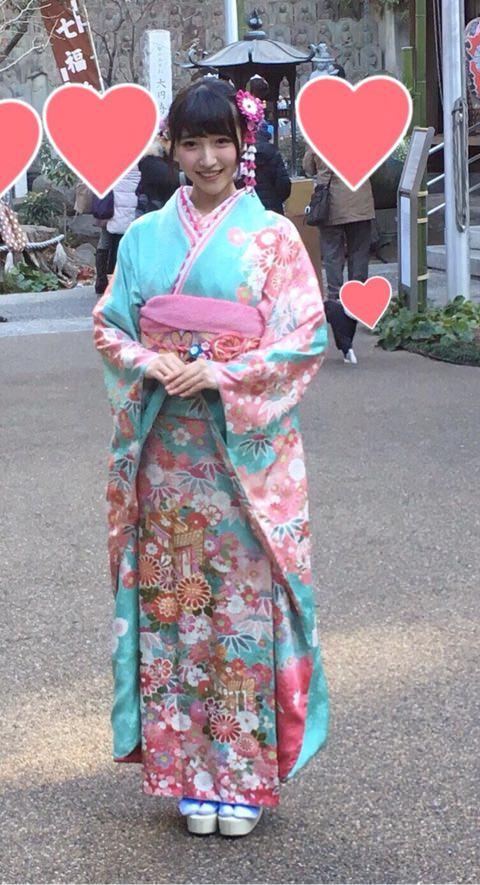 【画像あり】声優・山崎エリイちゃんの振り袖姿がカワイイ過ぎてファンになる件www
