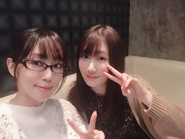 【朗報】声優の日笠陽子さん、奇跡の一枚を撮るwww