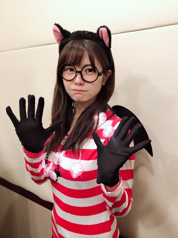 【朗報】ハロウィンコスの竹達彩奈さん、可愛すぎる件www