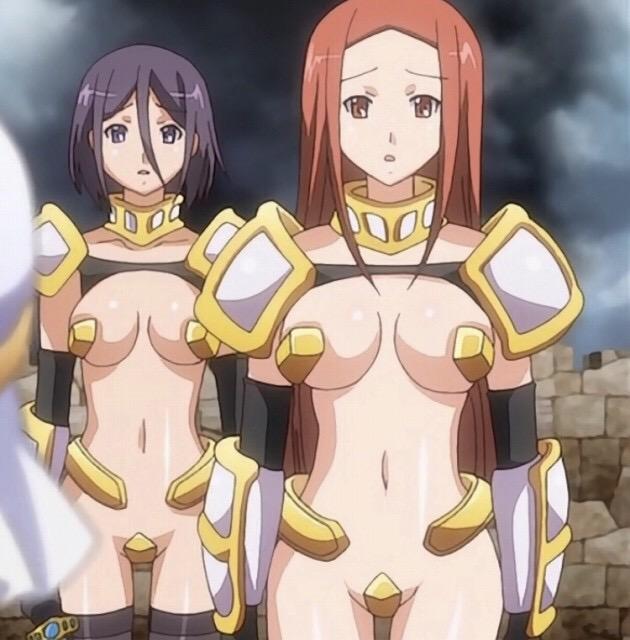 【悲報】某アニメの女騎士さん、とんでもない格好をしてしまう・・・