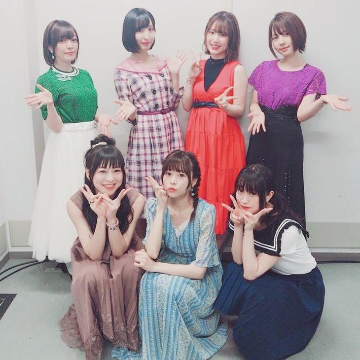 美少女声優TOP10中、7人が一堂に会するwww