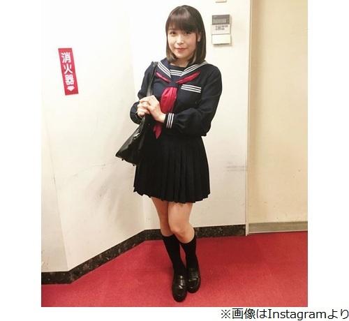 【朗報】声優・新田恵海がセーラー服姿を披露!!これ10代でも通用するだろwww